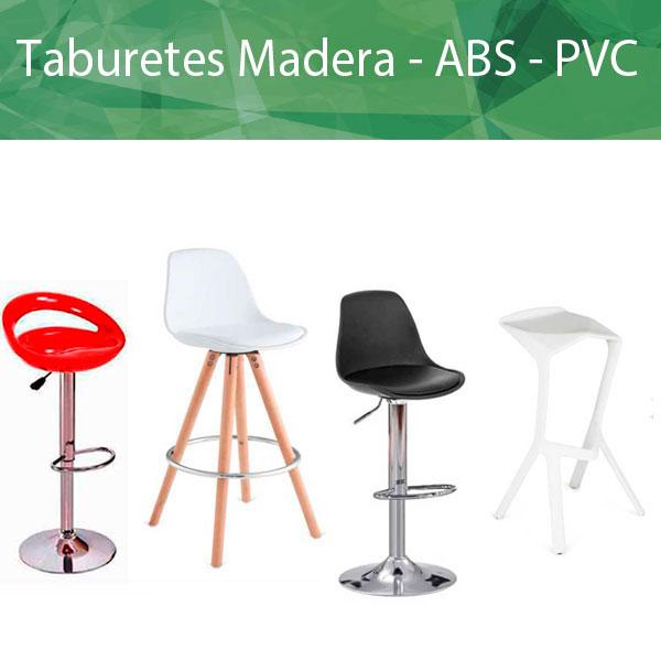 Taburetes Madera / PVC / ABS