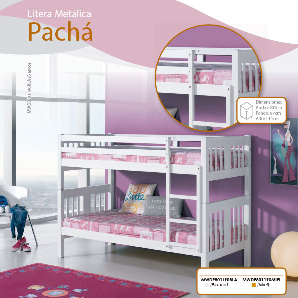 litera-metalica-pacha-en-madrid-tiendadecohome