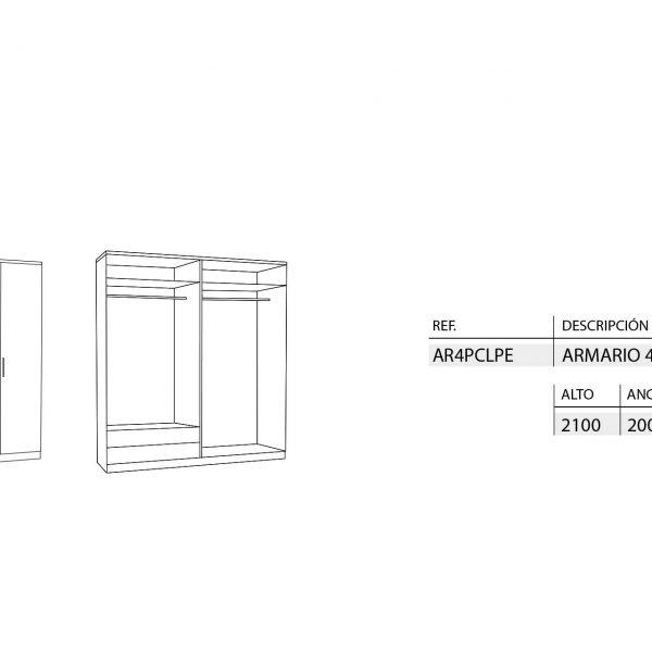 medidas-armarios-peru-4-puertas