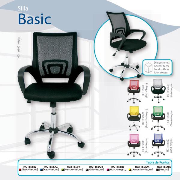 silla-de-oficina-basic-en-guadalajara-tiendadecohome