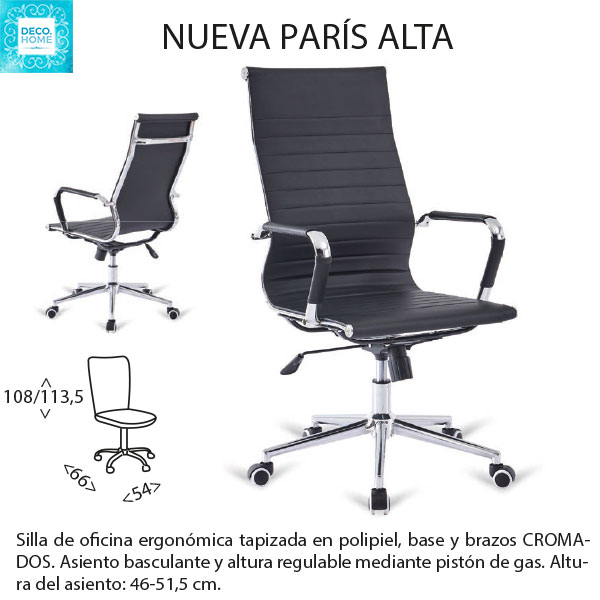 silla-de-oficina-paris-alta-negra-de-tiendadecohome