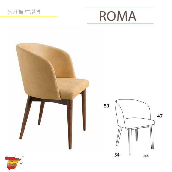 silllas-tapizadas-en-tarragona-modelo-roma-tiendadecohome