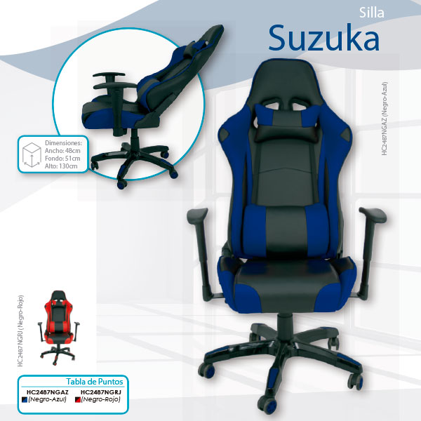 sillon-gaming-suzuka-en-madrid-tiendadecohome