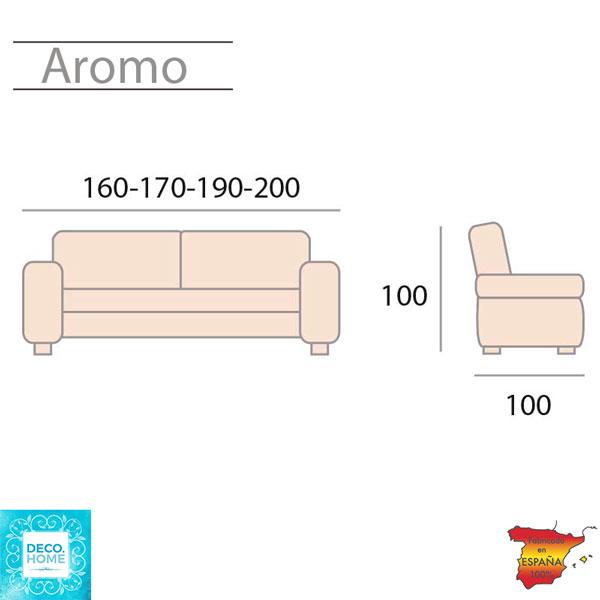 sofa-cama-aromo-medidas-de-tiendadecohome-en-zaragoza