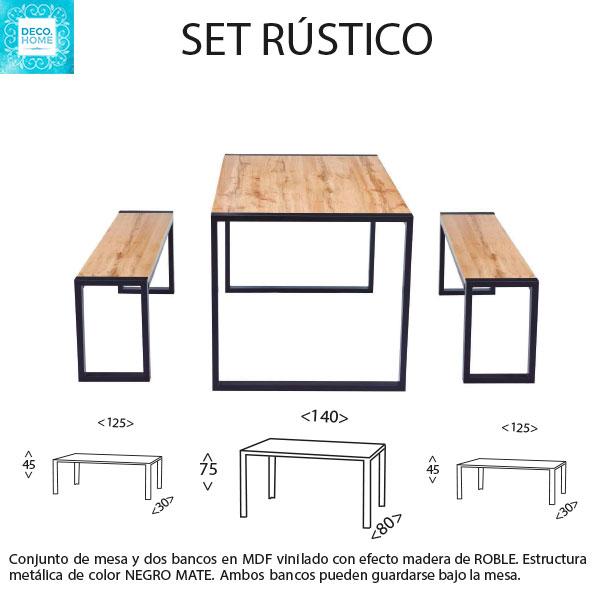 set-rustico-mesa-y-bancos-de-tiendadecohome