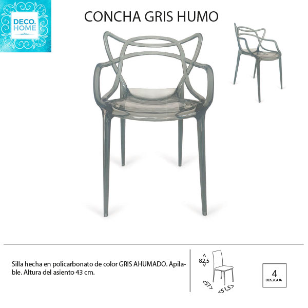 silla-concha-de-policarbonato-gris-ahumado-de-tiendadecohome