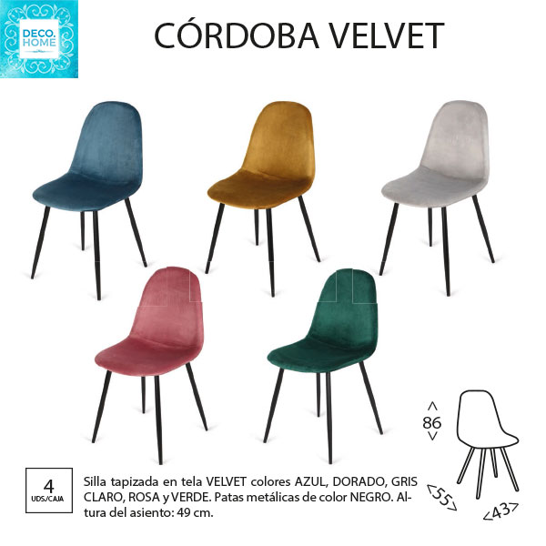 silla-tapizada-cordoba-velvet-colores-de-tiendadecohome