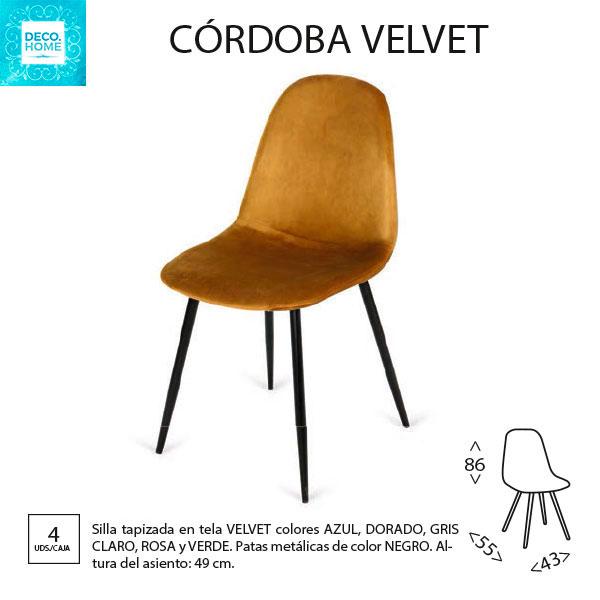 silla-tapizada-cordoba-velvet-tejido-terciopelode-tiendadecohome