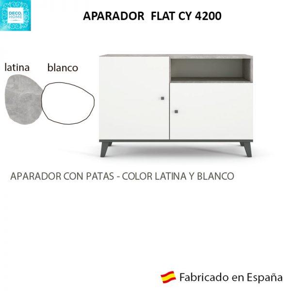 aparador-flat-cy4200-serie-top-latina-blanco