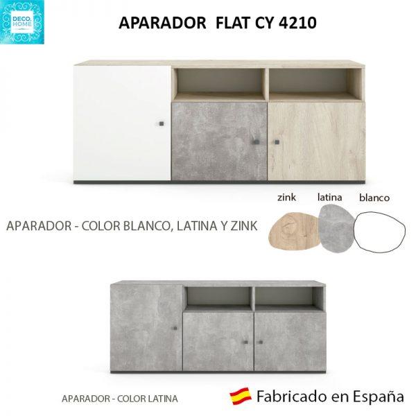 aparador-flat-cy4210-serie-top-ejemplos