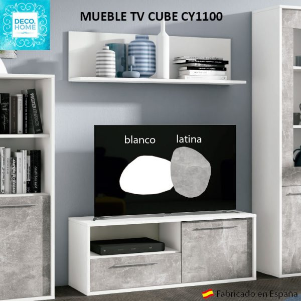 mueble-tv-cube-cy1100-serie-top