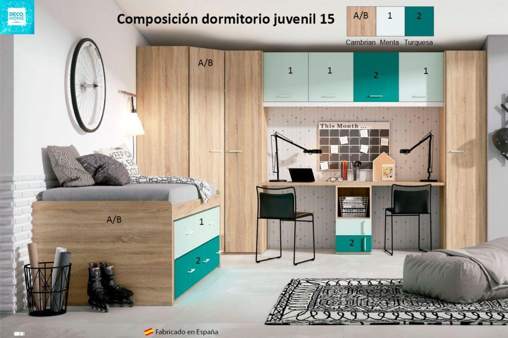 composicion-conjunto-dormitorio-juvenil-15-serie-bronce-de-tiendadecohome