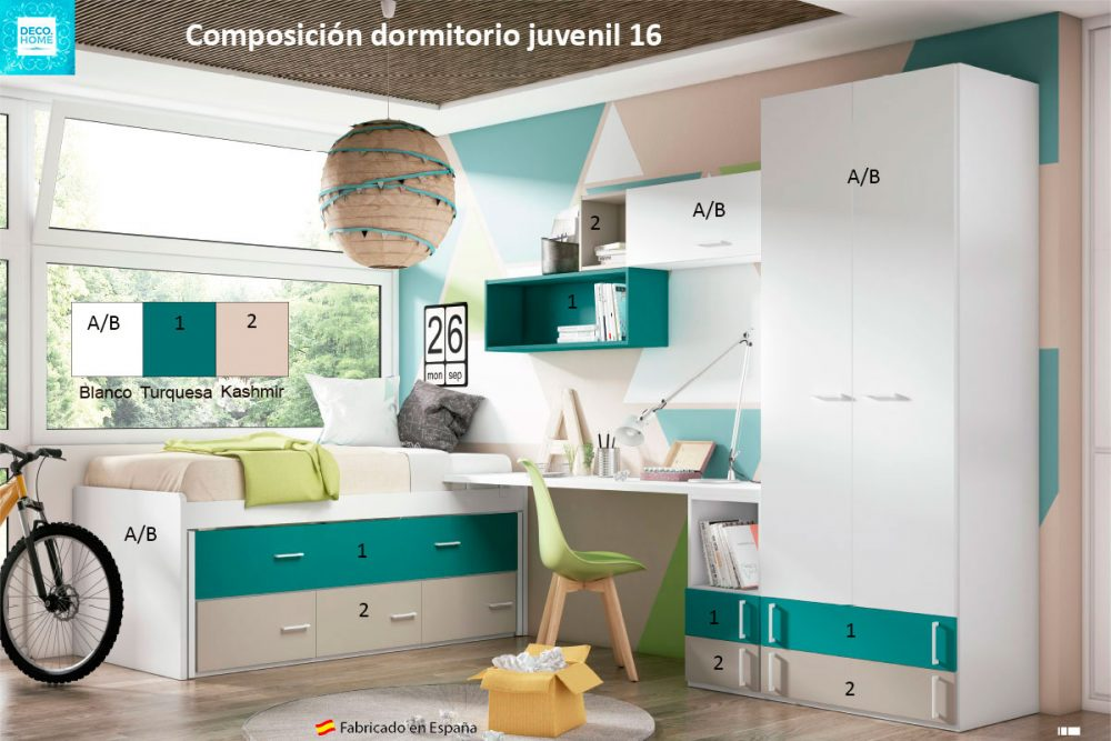 composicion-conjunto-dormitorio-juvenil-16-serie-bronce-de-tiendadecohome