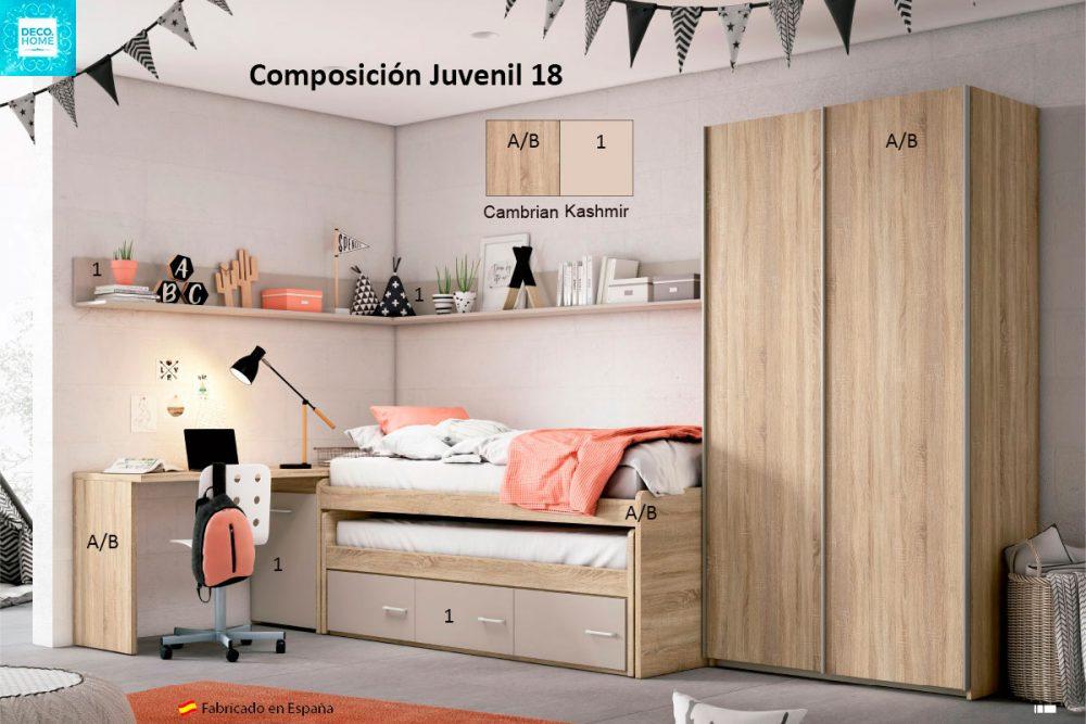 composicion-conjunto-dormitorio-juvenil-18-serie-bronce-de-tiendadecohome
