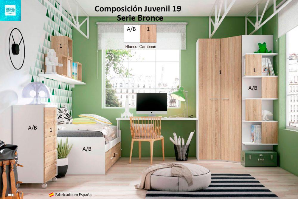 composicion-conjunto-dormitorio-juvenil-19-serie-bronce-de-tiendadecohome