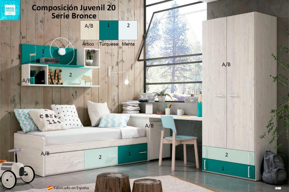 composicion-conjunto-dormitorio-juvenil-20-serie-bronce-de-tiendadecohome