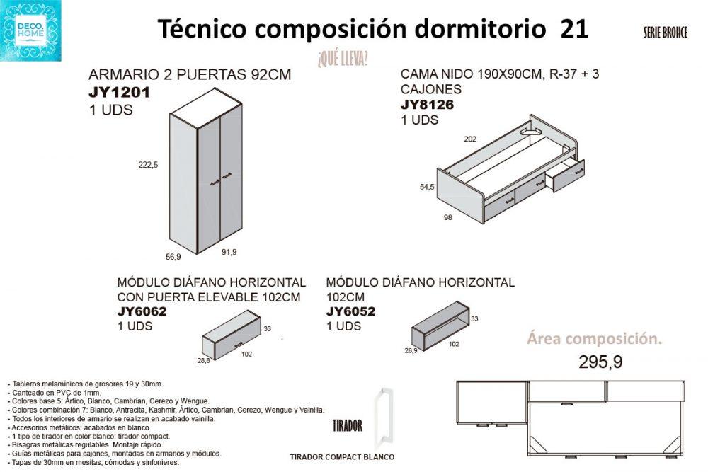 tecnico-composicion-conjunto-habitacion-juvenil-21-serie-bronce-de-tiendadecohome