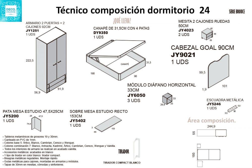 tecnico-composicion-conjunto-habitacion-juvenil-24-serie-bronce-de-tiendadecohome