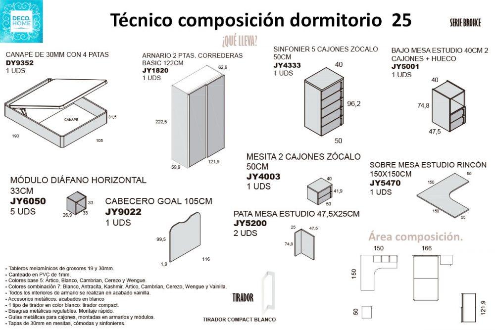 tecnico-composicion-conjunto-habitacion-juvenil-25-serie-bronce-de-tiendadecohome
