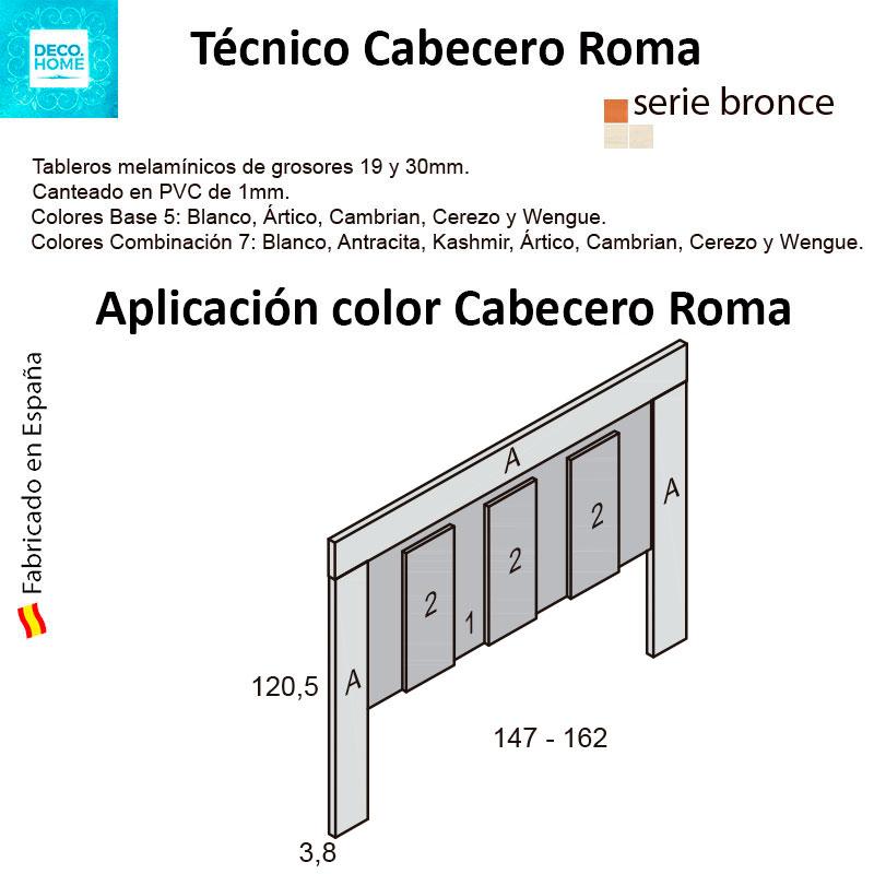 tecnico-cabezal-madera-roma-serie-bronce-de-tiendadecohome